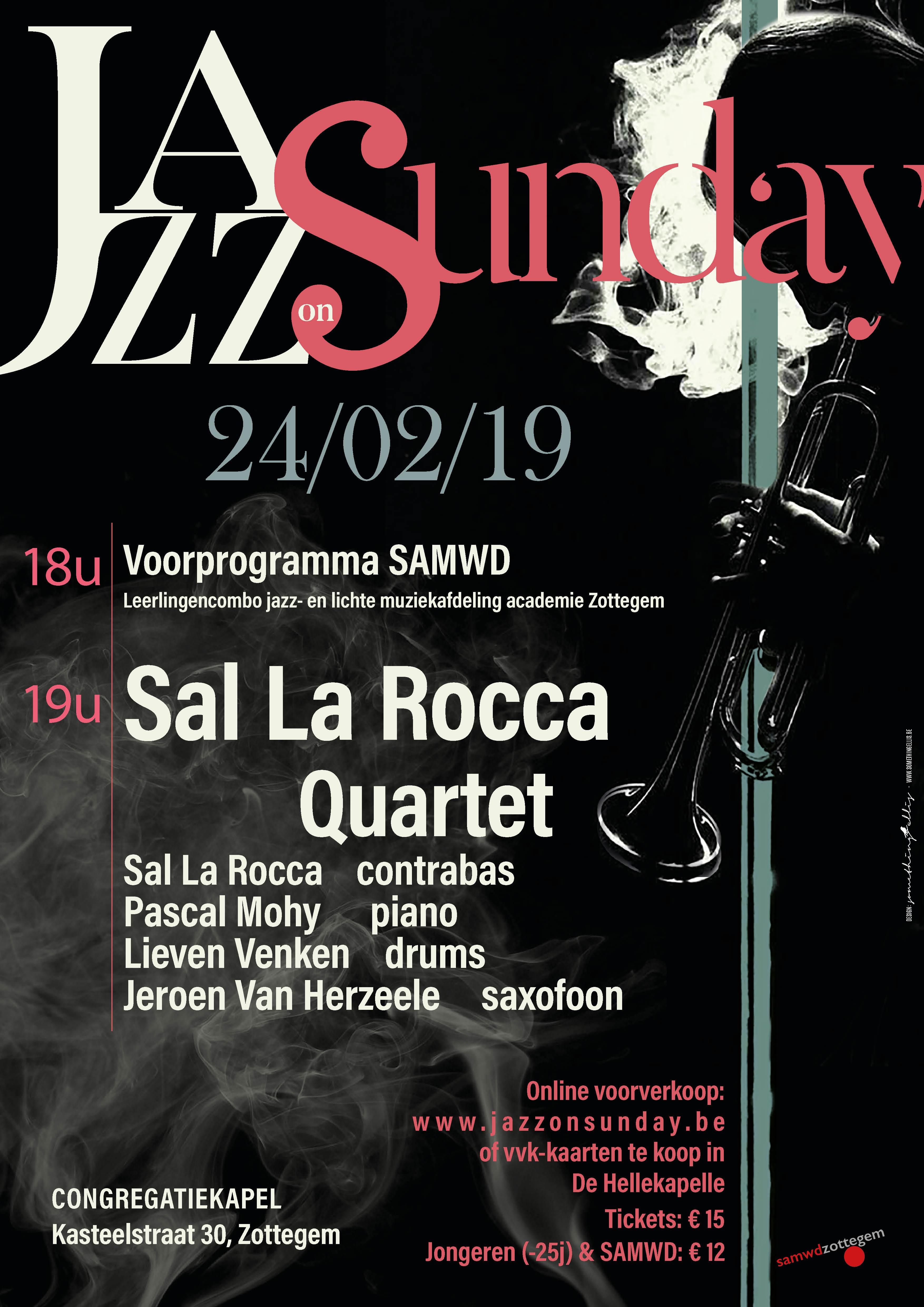 affiche-24_02_2019-Sal-La-Rocca-Quartet2